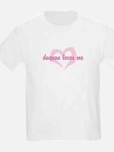 """daquan loves me"" Kids T-Shirt"