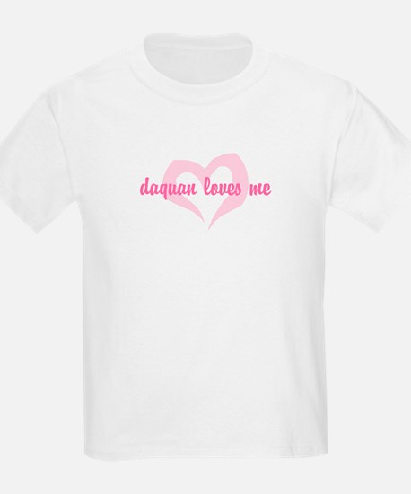 """daquan loves me"" Kids T-Shirt"
