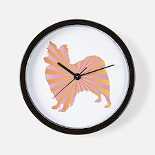 Papillon Rays Wall Clock