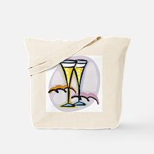 Champagne Glasses Toast Tote Bag