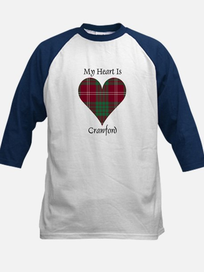 Heart - Crawford Kids Baseball Jersey