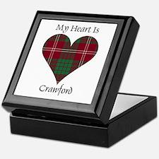 Heart - Crawford Keepsake Box