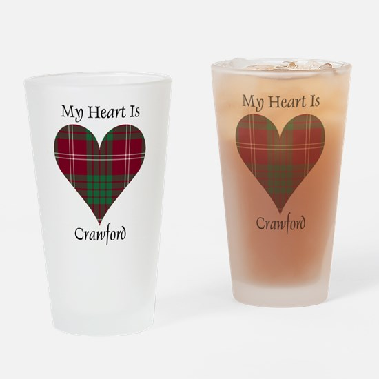 Heart - Crawford Drinking Glass