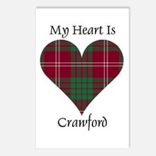 Heart - Crawford Postcards (Package of 8)