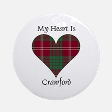 Heart - Crawford Ornament (Round)