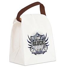 Team black Friday Shield_dark Canvas Lunch Bag