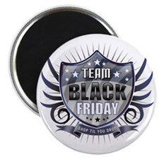 Team black Friday Shield_dark Magnet