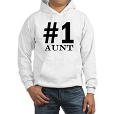 Number 1 Aunt Jumper Hoody