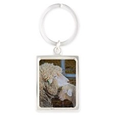 Stomper  Lamb Award Photo Portrait Keychain