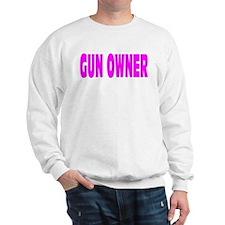 Gun Owner Pink Sweatshirt