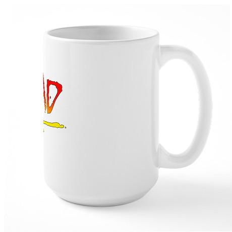 Rad_gradient2 Large Mug