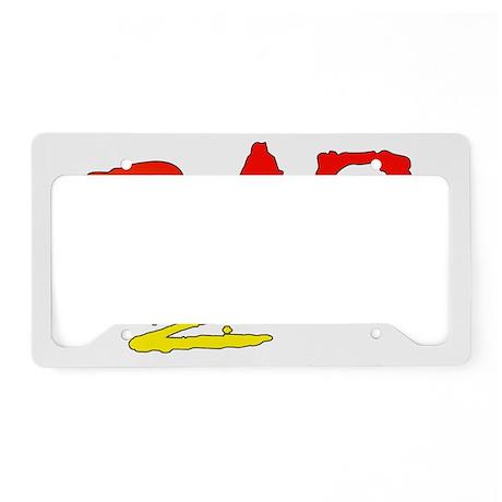 Rad_gradient2 License Plate Holder