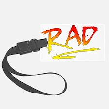 Rad_gradient2 Luggage Tag
