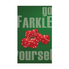 Farkle Yourself 8x10 Decal
