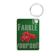 Farkle Yourself 8x10 Keychains