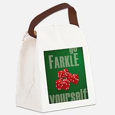 Farkle Yourself 8x10 Canvas Lunch Bag