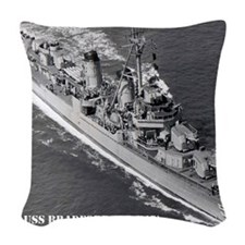 bradford framed panel print Woven Throw Pillow