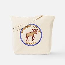 NeonMooseCircleSeriesMulticolorsNewTransB Tote Bag