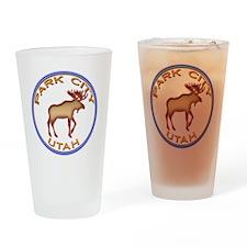 NeonMooseCircleSeriesMulticolorsNew Drinking Glass