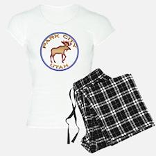 NeonMooseCircleSeriesMultic Pajamas