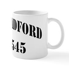 bradford black letters Mug