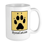 Hyena Cart Large Mug