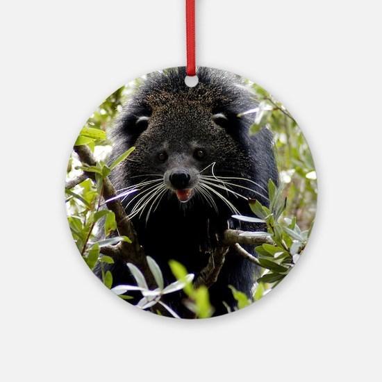 004Bearcat Round Ornament