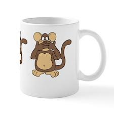 Three Wise Monkeys Mug