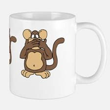 Three Wise Monkeys Mug