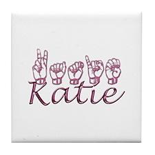 Katie Tile Coaster
