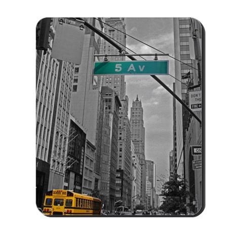 New York, 5th ave Mousepad