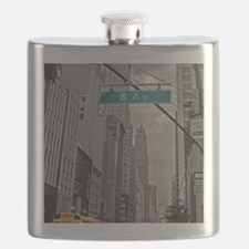 New York, 5th ave Flask