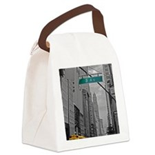 New York, 5th ave Canvas Lunch Bag