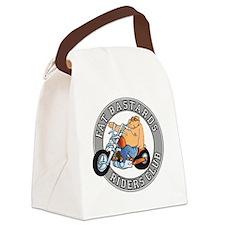 Logo_Shirt_Back Canvas Lunch Bag