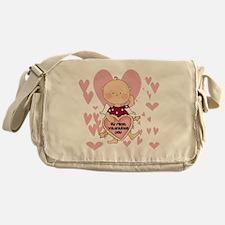 HEARTSFIRSTVALDAY Messenger Bag