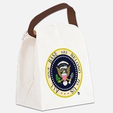 All Your Base Canvas Lunch Bag