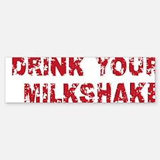 milkshake2 Bumper Bumper Sticker