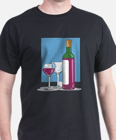 Bottle Of Red Wine T-Shirt