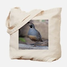 quailcalendarprint Tote Bag