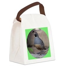 quaillapelsticker Canvas Lunch Bag
