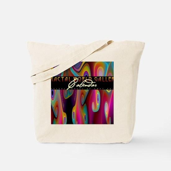 fractal calendar cover Tote Bag