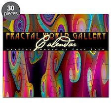 fractal calendar cover Puzzle