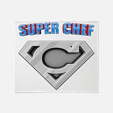 3-Super_chef Throw Blanket