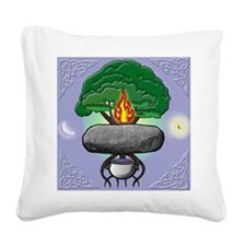 cosmos tile  Square Canvas Pillow