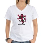 Lion - Crawford Women's V-Neck T-Shirt