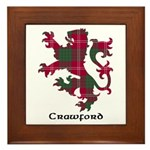 Lion - Crawford Framed Tile