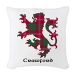 Lion - Crawford Woven Throw Pillow