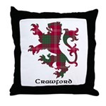 Lion - Crawford Throw Pillow