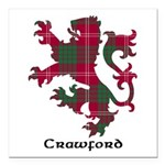 Lion - Crawford Square Car Magnet 3