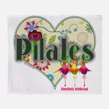 pilates kinesthetic intellectual fan Throw Blanket